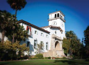 The Santa Barbara County Courthouse, Santa Barbara, California