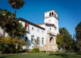 The Santa Barbara County Courthouse, Santa Barbara, California