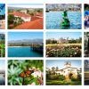 Santa Barbara Greeting Cards postcard set