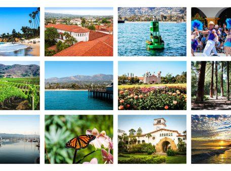Santa Barbara Greeting Cards postcard set
