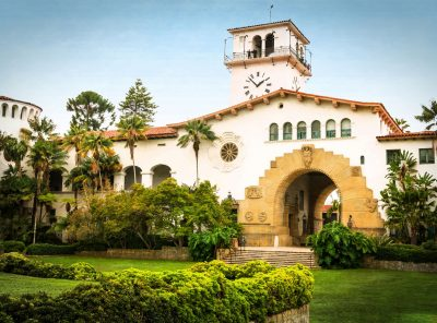 Santa Barbara Courthouse Sunken Gardens