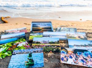 The American Riviera postcard set