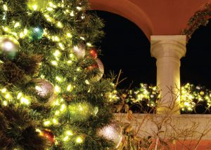 Paseo Nuevo Christmas Card from Santa Barbara Greeting Cards
