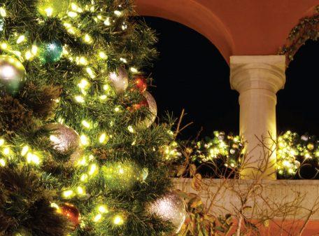 Paseo Nuevo Christmas Card from Santa Barbara Greeting Cards